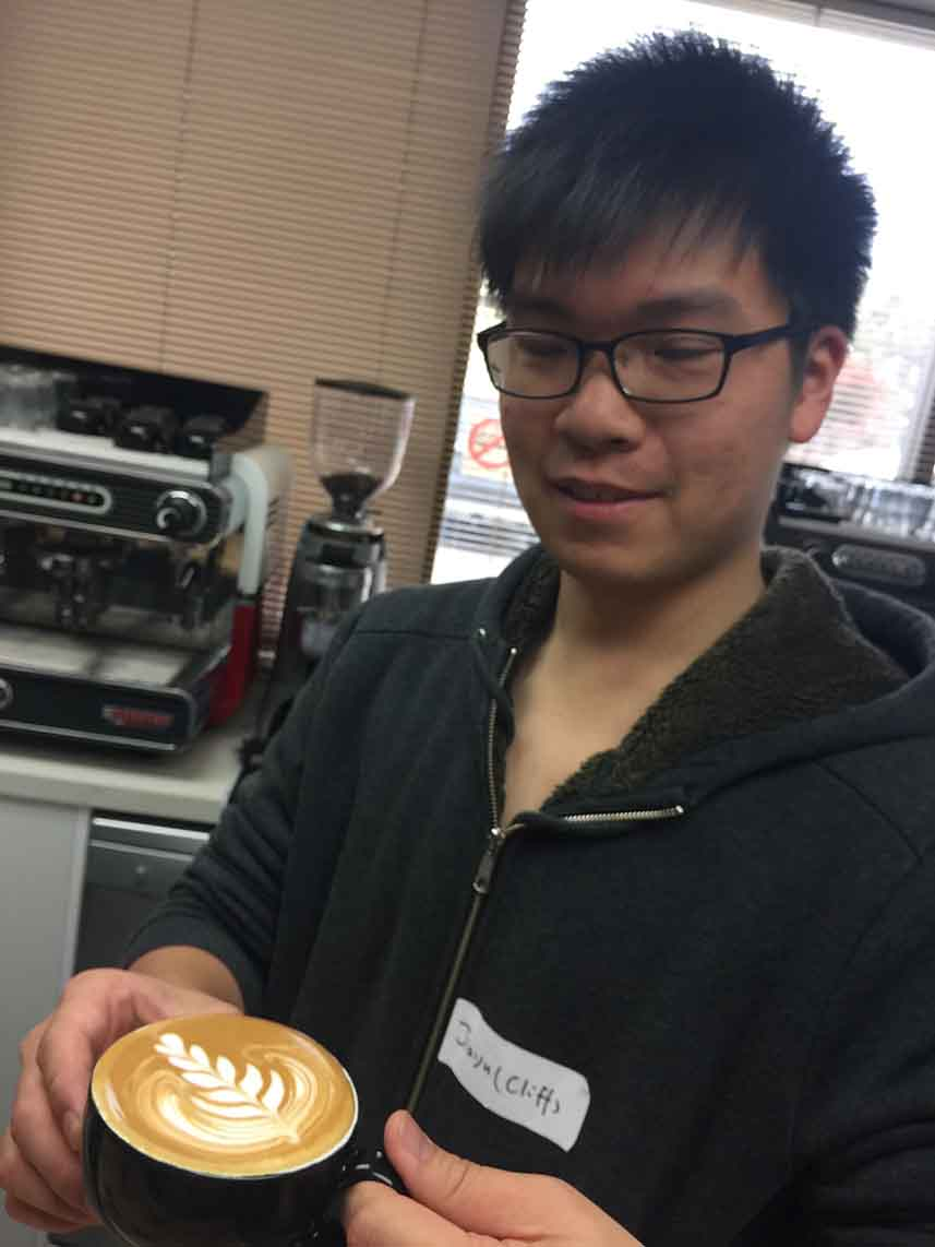 latte art training in south australia
