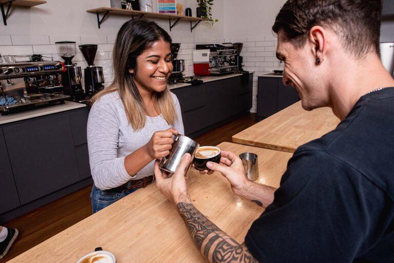Latte Art Training Adelaide