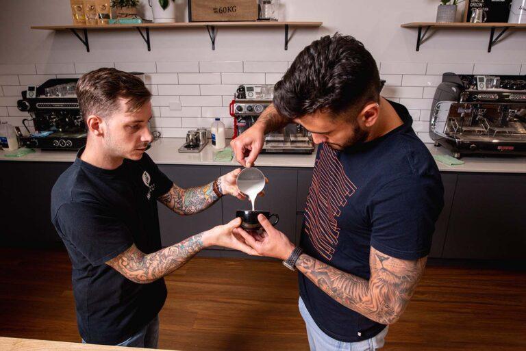 HG Coffee School Barista Latte Art Courses