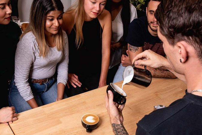 One On One Latte Art Lessons Adelaide